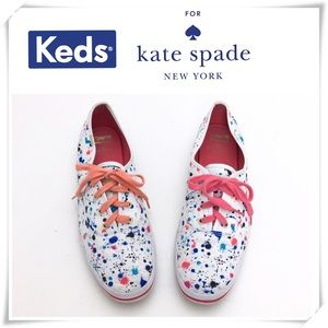 Keds × Kate Spade Splatter Ink Paint Sneaker